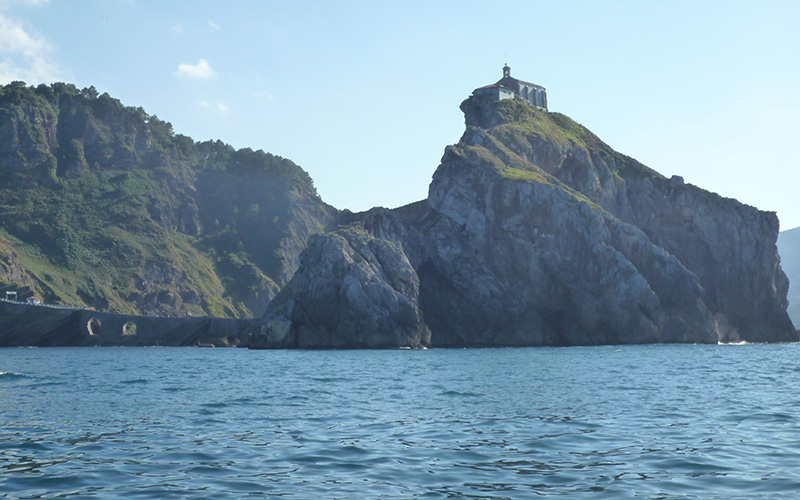 Excursion San Juan de Gaztelugatxe -  excursions en bateau - Game of Thrones - Dragonstone - Peyredragon
