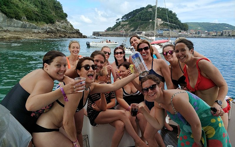 Boat Stag or Hen Parties San Sebastian -  Boat Tours